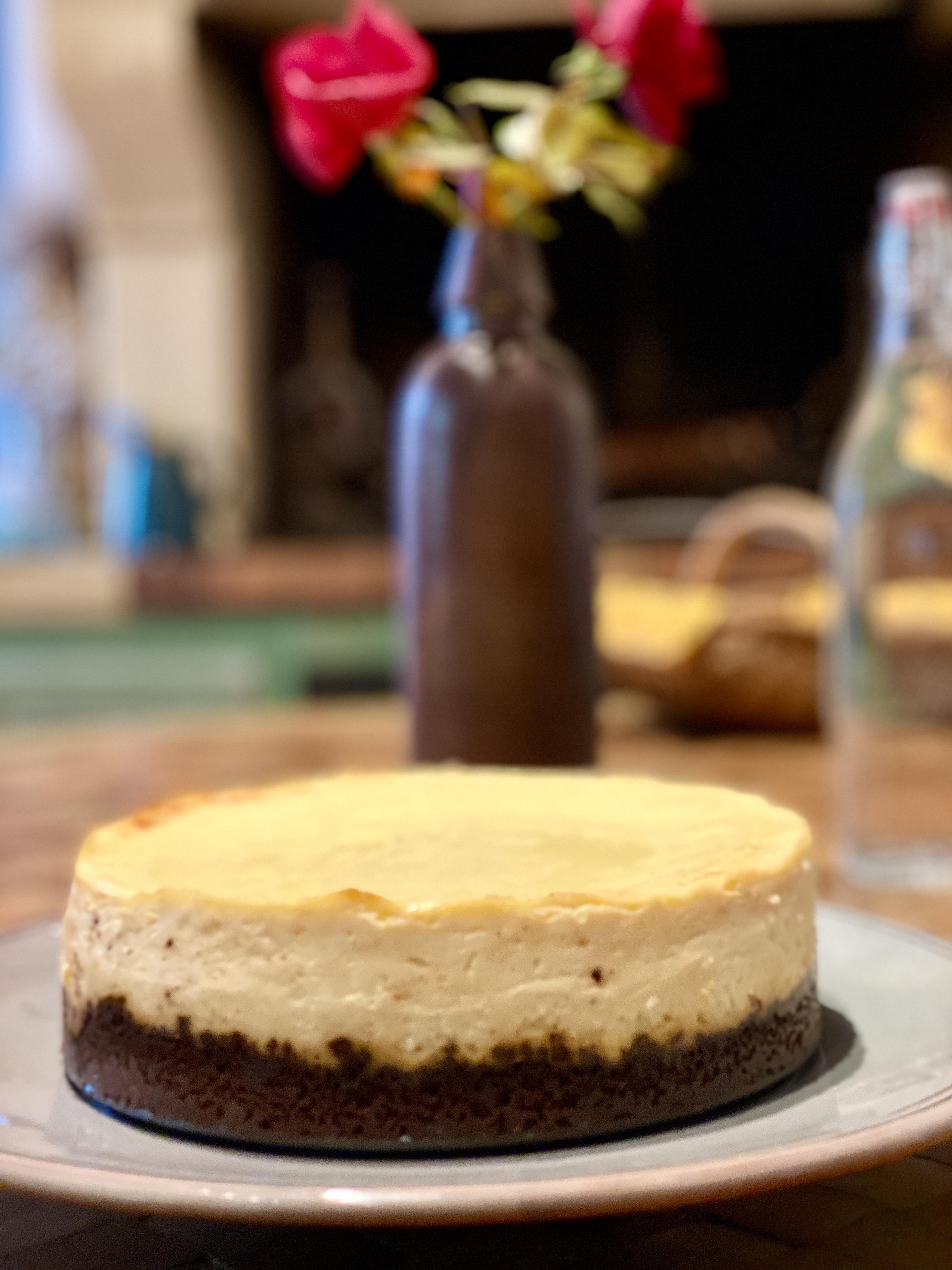 cheesecake très crémeux